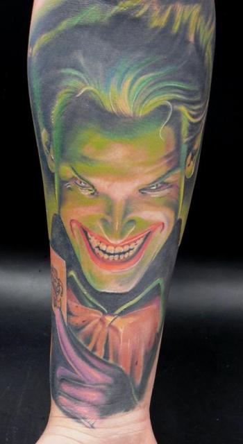 joker healed....