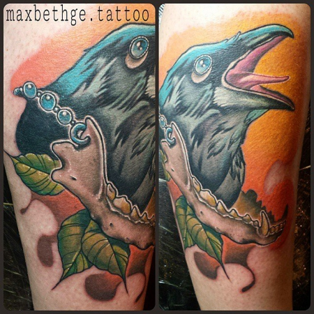 Lunatics Custom Tattoos by Max Bethge