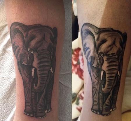 elefant-Tattoo: Elefant