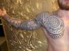 Maori / Mandala / Geometrie Mix GanzArmTattoo inkl. Brust