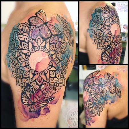 Mandala/Watercolour