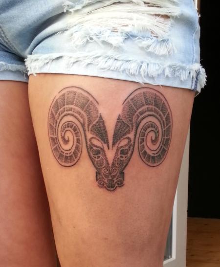 Widder Tattoos Und Widderbilder