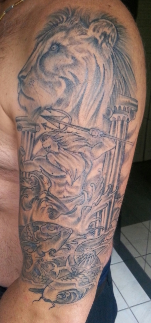 billard oli so jetzt 2 5 wochen alt tattoos von tattoo. Black Bedroom Furniture Sets. Home Design Ideas