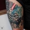 Star Wars Tattoo verheilt - 1,5 Jahre Teil 2 / Frankfurt am Main