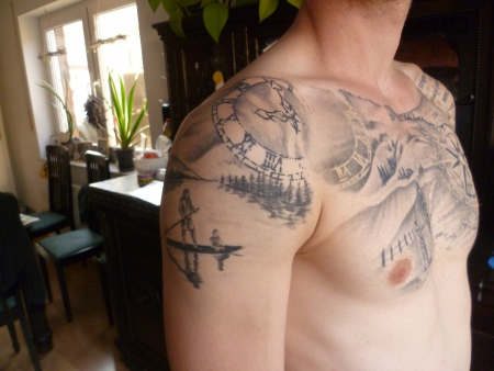 Paddeln Bergsee auf Tattoo-Bewertung.de
