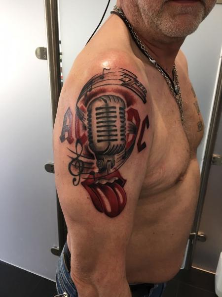 musik-Tattoo: Meine Musik