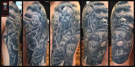 Vikinger Oberarm