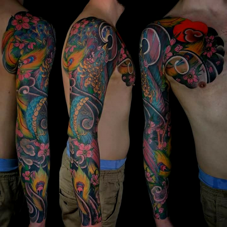 (Neo) Asia Hou-ou Sleeve + Brust