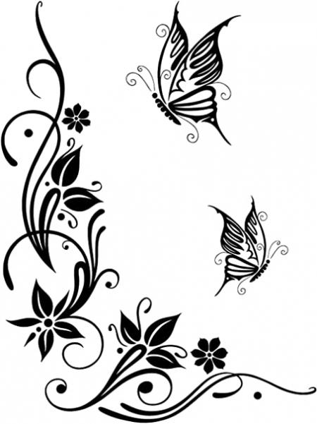 Schmetterlingsranke