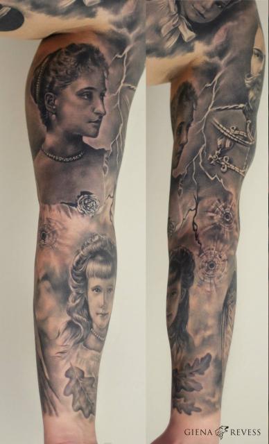 Full Sleeve - Guest Artist Olga Sergeeva