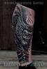 Alien-tattoo in progress...
