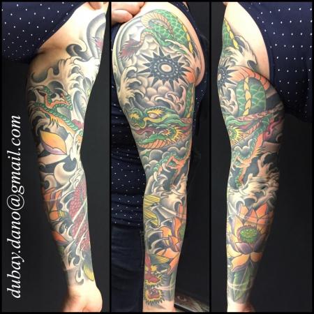 sonne-Tattoo: hmmm..3 artisten auf einem arm..von naja, bis sehr gut :-)