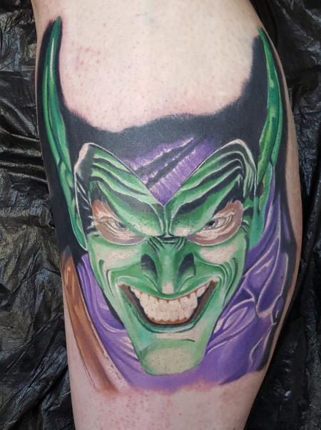 Green Goblin fertig.
