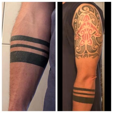 3 Streifen Armband