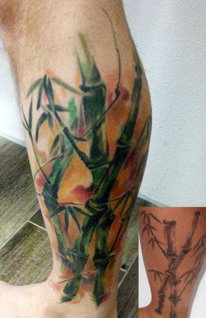 Qviter Bambus Tattoos Von Tattoo Bewertung De