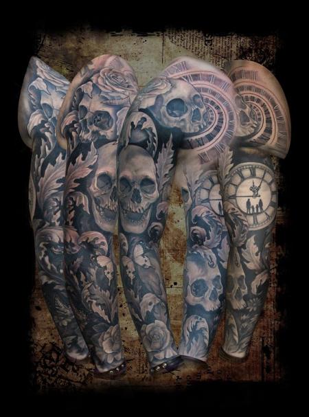 Skull Sleeve / Familienbande