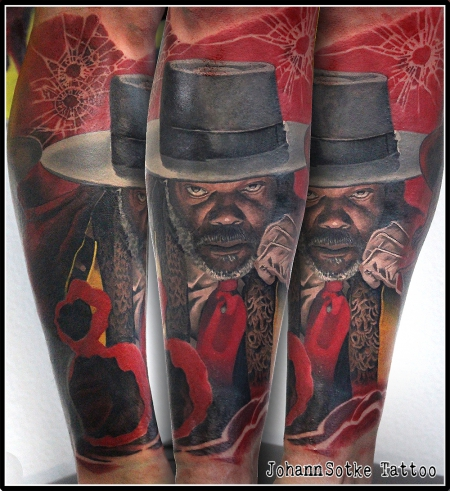 Sterne-Tattoo: warren