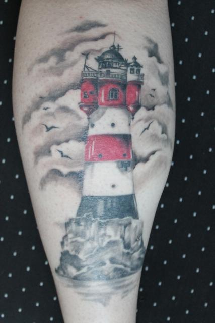 Jennii92 leuchtturm tattoos von tattoo - Tattoo leuchtturm ...