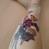 Tattoo Freddy KRüger Donald Duck