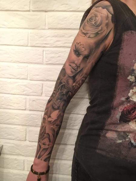 BnG Sleeve mit Jessica Alba Portrait