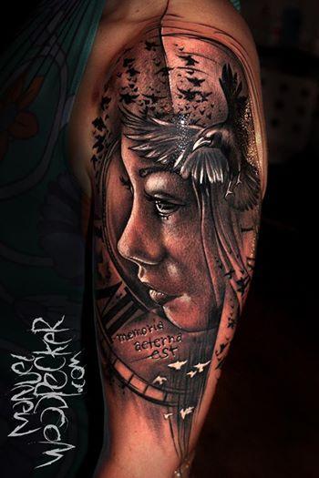 taube-Tattoo: Memoria aeterna est