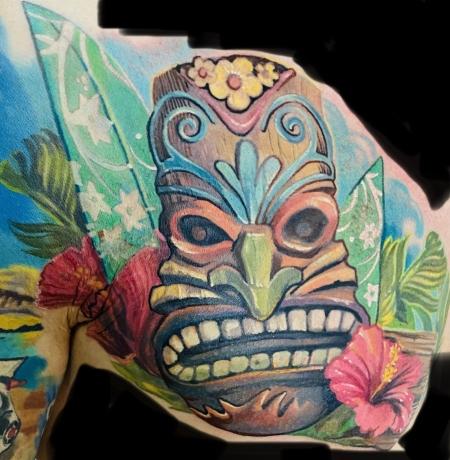 Tikki Maske / Surf / Hawaii