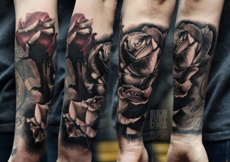 Black black Roses..