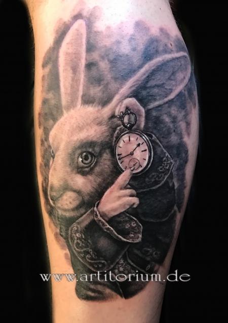 Alice im Wunderland Hase