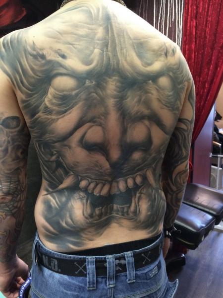stechwerk wuppertal-Tattoo: Hanna Back Piece