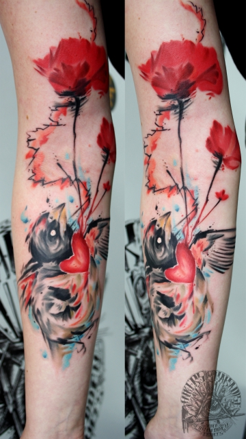 Birdy by Marco von Inkers-Paradise Tattoo