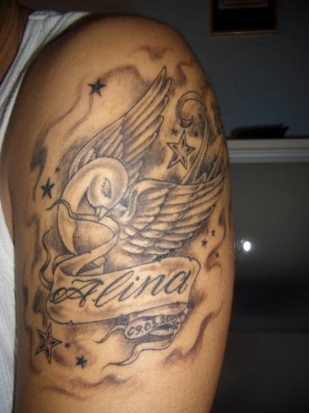shakir04 schriftzug tattoos von tattoo. Black Bedroom Furniture Sets. Home Design Ideas