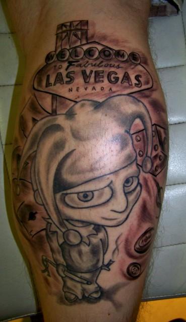 Slimheli las vegas tattoos von tattoo for Las vegas tattoo