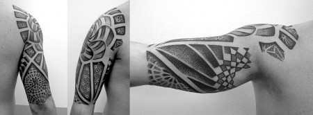 dotwork-Tattoo: Dot-Work Tattoo