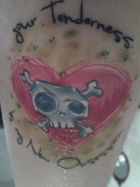 Skull mit Herz