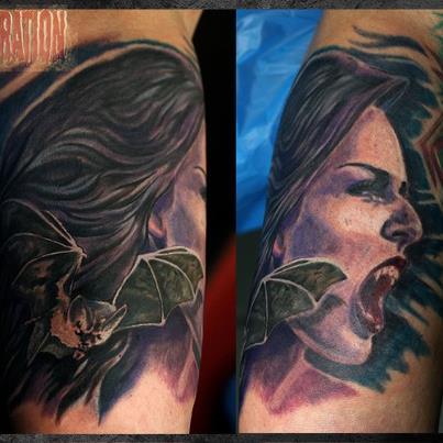 victor portugal-Tattoo: Für einen guten Zweck