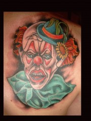 Clown's Bild