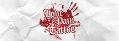 Love is Pain Tattoo Berlin's Bild