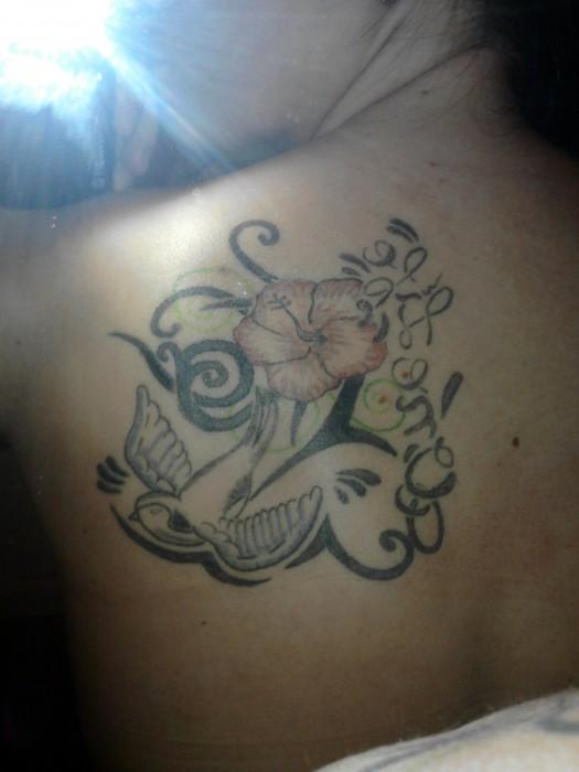 Pin Tattoo Garten Fantasie 12 Libelle Kolibri Blume Art Tattoos On